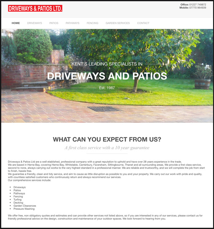 Driveways and Patios Ltd